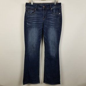 American Eagle Super Stretch Kick Boot Cut 14 Long